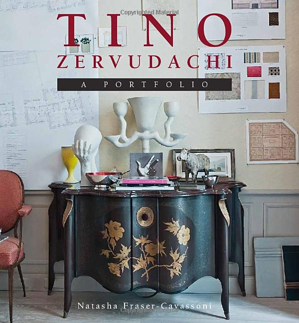 Book cover art for TINO ZERVUDACHI (A PORTFOLIO) by Natasha Fraser-Cavassoni
