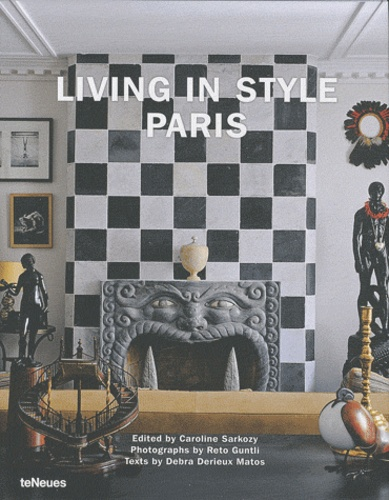 Book cover art for LIVING IN STYLE by Caroline Sarkozi
