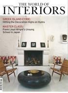 Cover art for The World of Interiors, November 2013