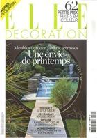 Cover art for Elle Decoration, April 2010