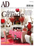 Cover art for Architectural Digest Espana, December 2010