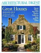 Cover art for Architectural Digest England, October 2010