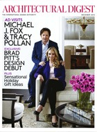 Cover art for Architectural Digest, December 2012