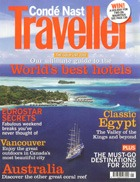 Cover art for Conde Nast Traveller, January 2010