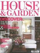 Cover art for House & Garden, October 2004