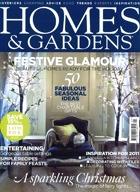 Cover art for Homes & Gardens, January 2011