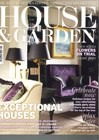 Cover art for House & Garden, January 2012