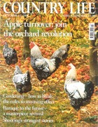 Cover art for Country Life, October 2008