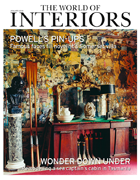 Cover art for The World of Interiors, January 2019