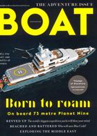 Cover art for Boat International, September 2018