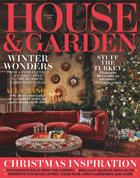 Cover art for House & Garden, December 2017