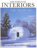Cover art for The World Of Interiors, December 2004