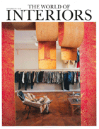 Cover art for The World of Interiors, September 2017