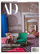 Cover art for Architectural Digest, April 2017