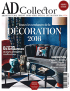 Cover art for AD Collector, April 2016