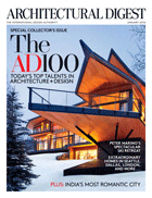 Cover art for Architectural Digest, January 2016