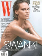 Cover art for W, January 2008