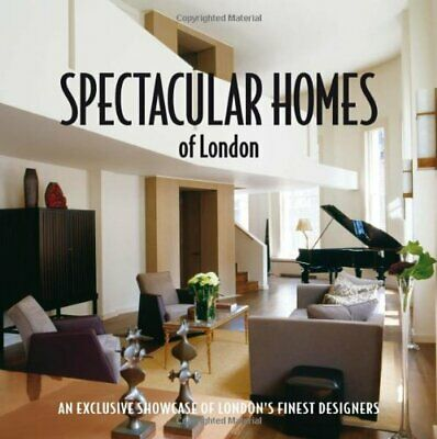 Book cover art for SPECTACULAR HOMES OF LONDON